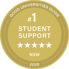 Student Support 2018 Good Universities Guide Seal
